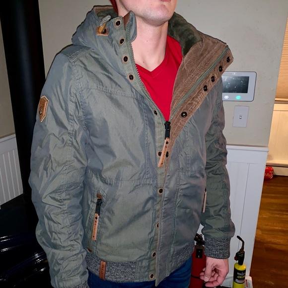 NWT men's nice Naketano coat NWT
